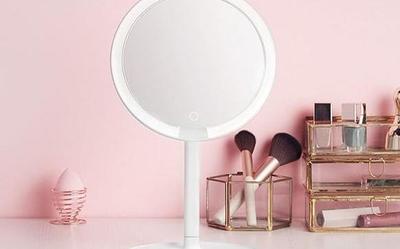少女情怀总是诗 同米家LED化妆镜一同观览女性精致感