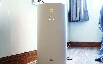 720全效空气净化器C400:秋冬季节 洁净空气伴你左右