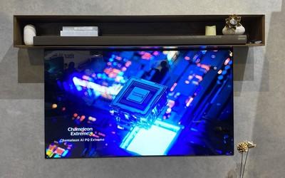 """创维自发光壁纸电视W81系列发布 薄到如""""贴""""在墙上"""