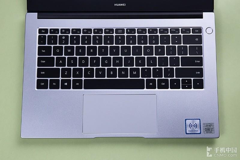 华为 MateBook D 14酷睿版图赏:至美设计 灵动小巧