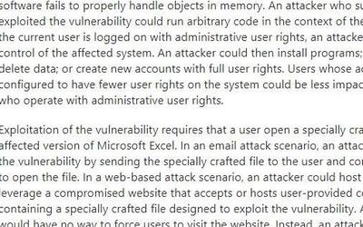 支付寶安全實驗室發現Office高危漏洞獲微軟致謝