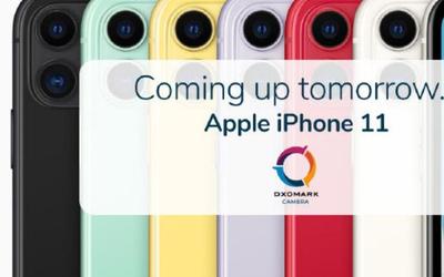 DXOMARK公布iPhone 11手机的得分 网友猜对了109分