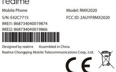 realme C3新机曝光 后置三摄 搭载新ColorOS 7系统