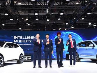 进军印度 长城携哈弗和长城EV首次亮相印度德里车展