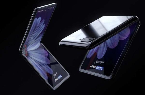 三星Galaxy Z Flip渲染图(图源网)