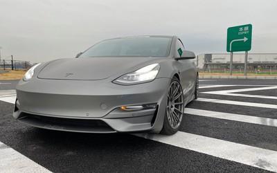 改装版Model 3赛道测试 赶超保时捷GT3直逼迈凯伦F1