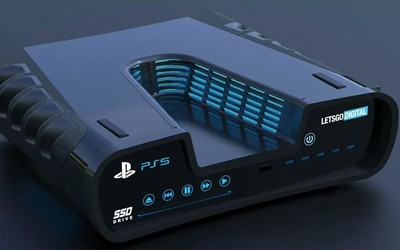 索尼日本官网疑似曝光PS5游戏机 深V造型颜值�如何?
