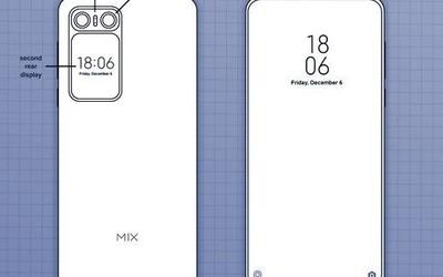 """""""小米MIX 2020""""专利图曝光!正反双屏幕设计够吸睛"""