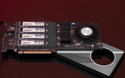 技嘉AORUS Gen4 AIC SSD 8TB硬盘即将上市 速度爆炸
