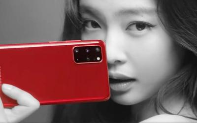 三星S20+ Jennie RED配色亮相 BLACKPINK粉ω 丝安排上
