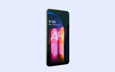 外媒曝光LG V60 ThinQ正面渲染图 或2月24日正式发布