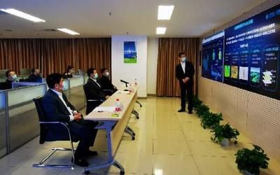 楊杰到中國移動設計院指導疫情防控和生產經營工作