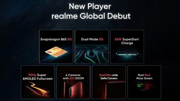 realme X50 Pro 5G即将在海外发布