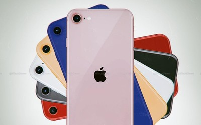 iPhone 9最新渲染圖 看外觀就是iPhone 8換了后蓋吧
