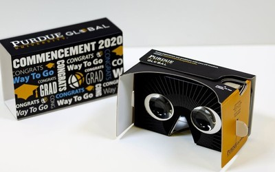 """""""云""""毕业?普渡大学线上学生可以通过VR参加毕业典礼"""