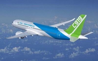 一二三航空今日正式揭牌 国产C919客机全球首家①用户