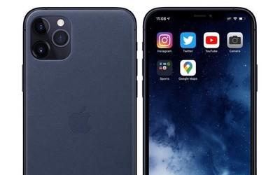 iPhone 11 Pro Max午夜藍渲染圖曝光 2020年新潮流?