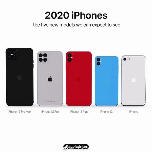 2020年新iPhone(图源网)
