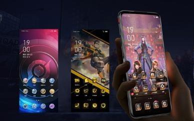 太美!红魔5G游戏手机联手5款热门手游打造专属主题