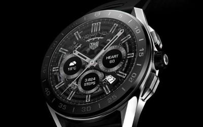 泰格豪雅Connected智能手表亮相 售价高达1.3万元!