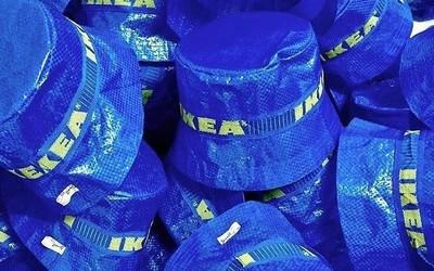 宜家又把购物袋做成了周边 你猜猜渔夫帽卖多少钱?