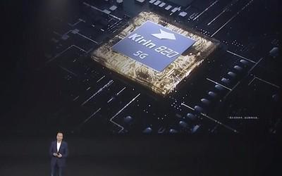 麒麟820正式发布 性能全面提升麒麟990 5G同款基带