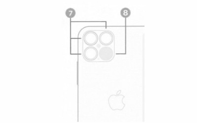 iPhone 12系列设计图曝光 后置三摄配激光雷达扫描仪