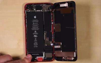 iPhone SE拆解���y:部分炼制中硬件可�ciPhone 8���F互�Q