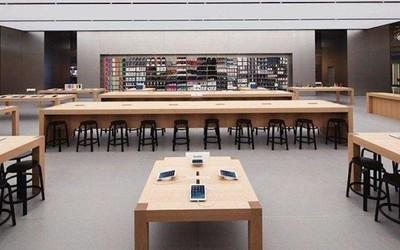 �O果零售主管位置是偏离反而:更多Apple Store�㈧�5月份重新�_〓放