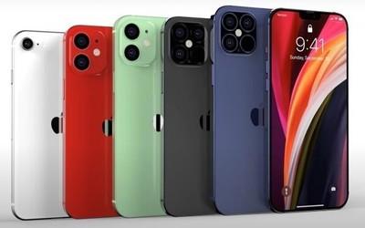 iPhone 12系列全新渲染图曝光 刘海更小拍照功能更强