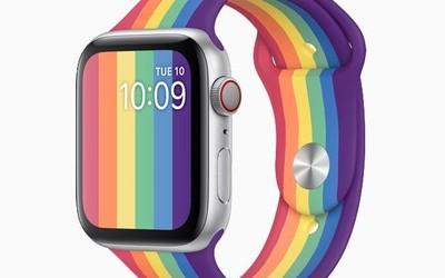 苹果发布全新Apple Watch彩虹表带 硅胶材质共有两款