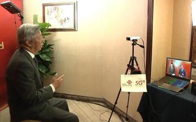 5G为全国两会记者带来便利 河南联通助力5G全息采访
