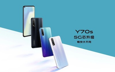 vivo Y70s开售 Exynos880加持4500mAh电池1998元起