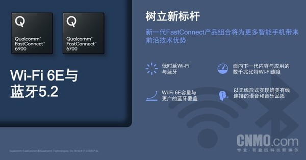 Qualcomm FastConnect 6900和Qualcomm FastConnect 6700移动连接系统