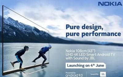 诺基亚4K电视明日发布 又一个手机厂商发力电视行业