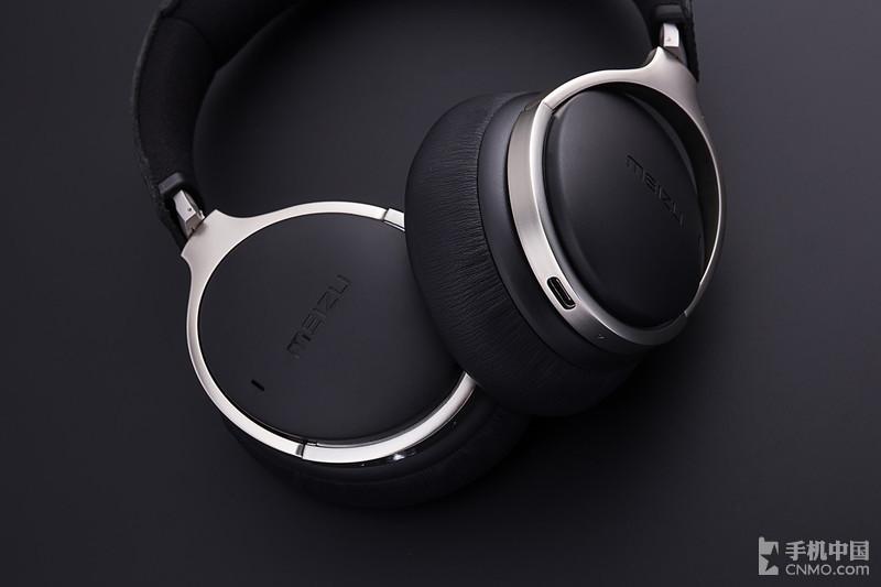 魅族HD60降噪耳机图赏 头层牛皮耳罩带来稳重质感