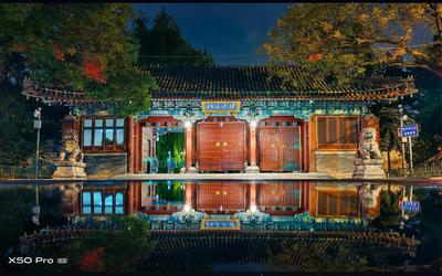 vivo X50系列记录夜色下的中国校园:超清暗拍更精彩
