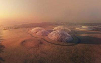 """迪拜将在沙漠中建立首个""""火星城市"""" 你准备好移民了吗"""