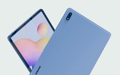 三星Galaxy Tab S7渲染图出炉 后置相机升级为双摄