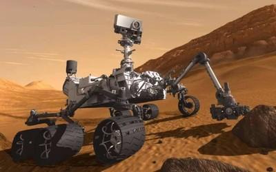 NASA好奇号火星探测器发来新影像 地球金星意外出镜