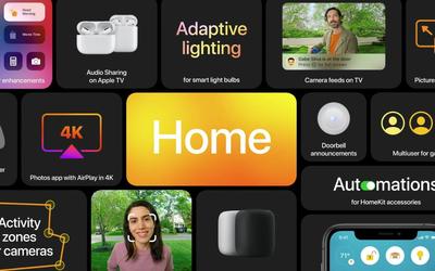 全新的tvOS 14和HomeKit 苹果为你打造更懂你的家!