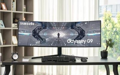 三星Odyssey G9游戏显示器在全球推出 约售11000元