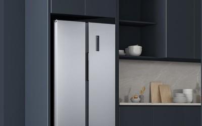 米家风冷对开门冰箱483L直降400元 到手价2099元!