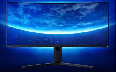 小米曲面显示屏34英寸降至2199元 高刷新率+超宽屏幕
