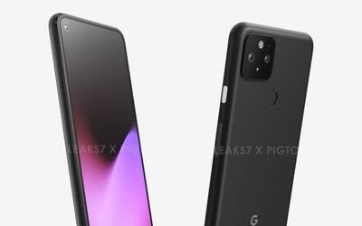 谷歌Pixel 5 5G版渲染图曝光:挖孔全面屏可能不是旗舰