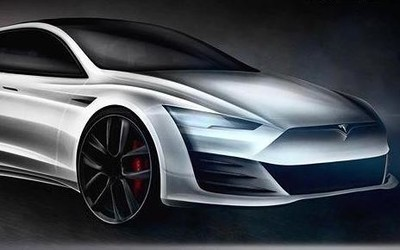 疑似全新特斯拉Model S渲染图 外观激进运动气息十足
