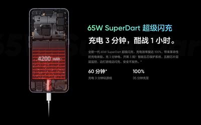 realme或将发布Ultra Dart快充技术 100W充电效率更高