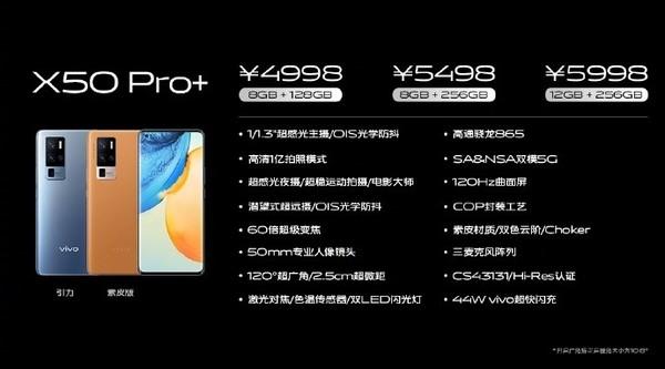 vivoX50 Pro+正式发布(图源来自网络)