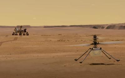 NASA火星直升机有活干了 在大气中执行自动飞行测试
