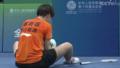 """奥运冠军陈雨菲全运会穿李宁鞋比赛脚被割伤 疑似大脚指被""""钢丝""""戳到"""